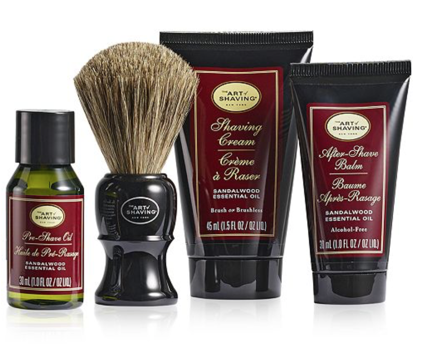 Art of Shaving The Men's Sandalwood Mid-Size Kit