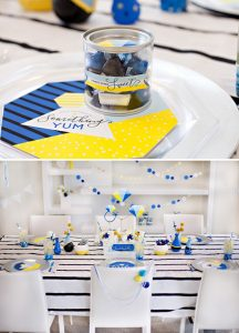 Something Blue Bridal Shower from Hostess with the Hostess