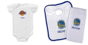 Designs by Chad and Jake   Personalized Sports Gear for Baby