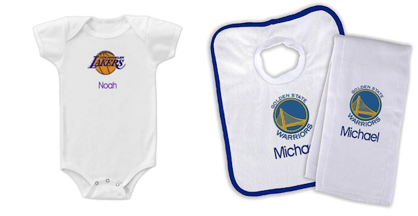 Designs by Chad and Jake | Personalized Sports Gear for Baby