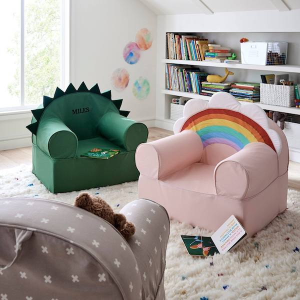 Best Personalized Baby Gifts | Crate&kids Large Nod Chair