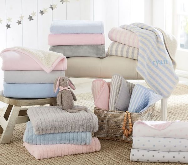 Best Personalized Baby Gifts | Personalized Baby Blankets | Pottery Barn Baby Blankets
