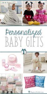 Best Personalized Baby Gifts   RegsitryFinder.com