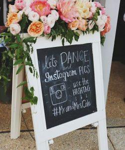 Wedding Hashtag Ideas | How to Use a Wedding Hashtag | Chalkboard Wedding Signs