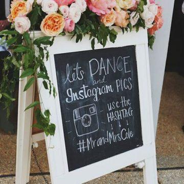 Wedding Hashtag Ideas   How to Use a Wedding Hashtag   Chalkboard Wedding Signs