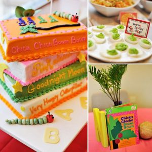 Dr. Seuss or Children's Book Theme | Guy-Friendly Co-Ed Baby Shower