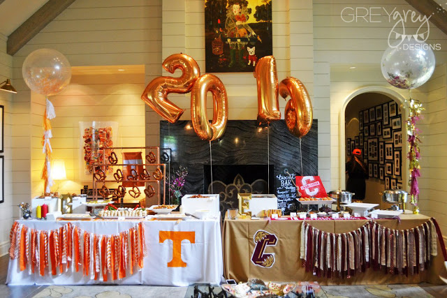 Tailgate Themed Party | Graduation Party Ideas
