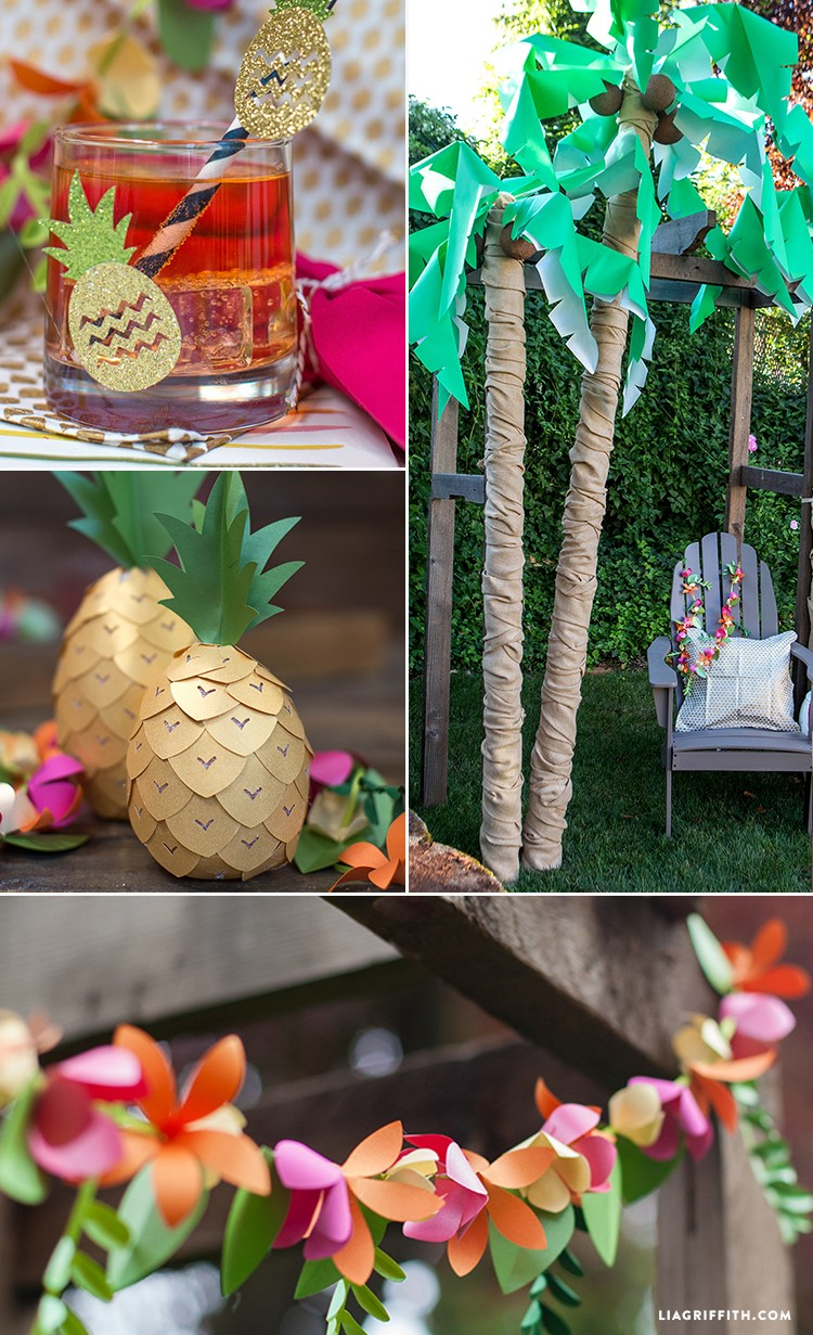 Host a Luau Themed Party | Graduation Party Ideas