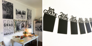Include a Photo Gallery | Graduation Party Ideas