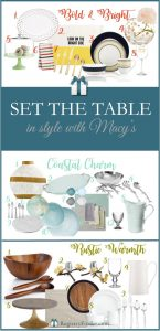 Set the Table in Style with Macy's | RegistryFinder.com