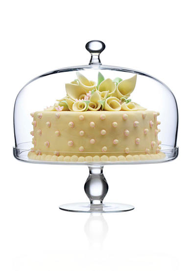 Wedding Registries at Belk | Luigi Bormioli Footed Cake Plate | Glass Dome Cake Plate