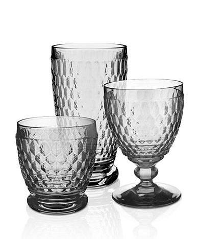Top Registry Gifts from Belk | Villeroy & Boch Boston Clear Stemware | Drinking Glasses