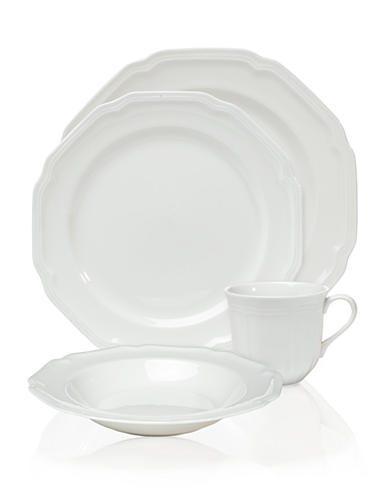 Top Belk Gifts | Mikasa Antique White Dinnerware | All white place setting  sc 1 st  RegistryFinder.com & Mikasa Antique White Dinnerware - RegistryFinder.com