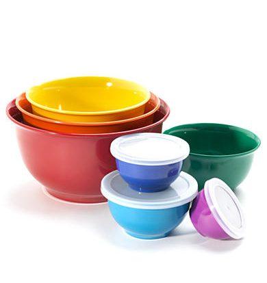 Belk Registry Tips | Cooks Tools 14-piece Melamine Mixing Bowls Set