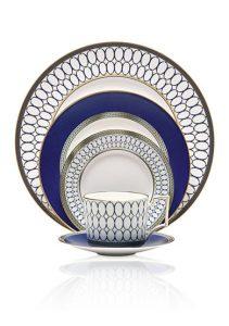 Belk Wedding Registry | Wedgewood Renaissance Gold Dinnerware | Wedgewood blue