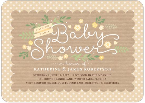 Baby Shower Invitations | Neutral Baby Shower Invitation