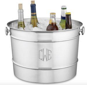 Monogram Gift   Stainless-Steel Beverage Bucket