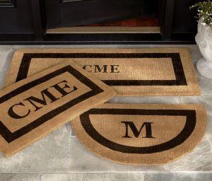 Monogram Gift | Monogrammed Doormat