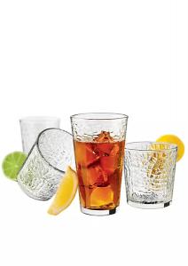 Libbey 16-piece Frost Drinkware Set