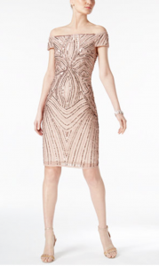 Dresses for a Summer Wedding | Adrianna Papell Embellished Sheath Dress