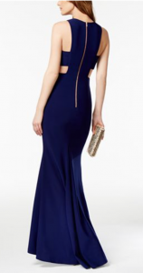 What to Wear to a Formal Wedding | Betsy & Adam Cutout Mermaid Gown