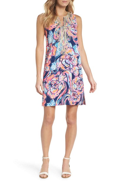 Carlotta Sleeveless Stretch Shift Dress LILLY PULITZER®