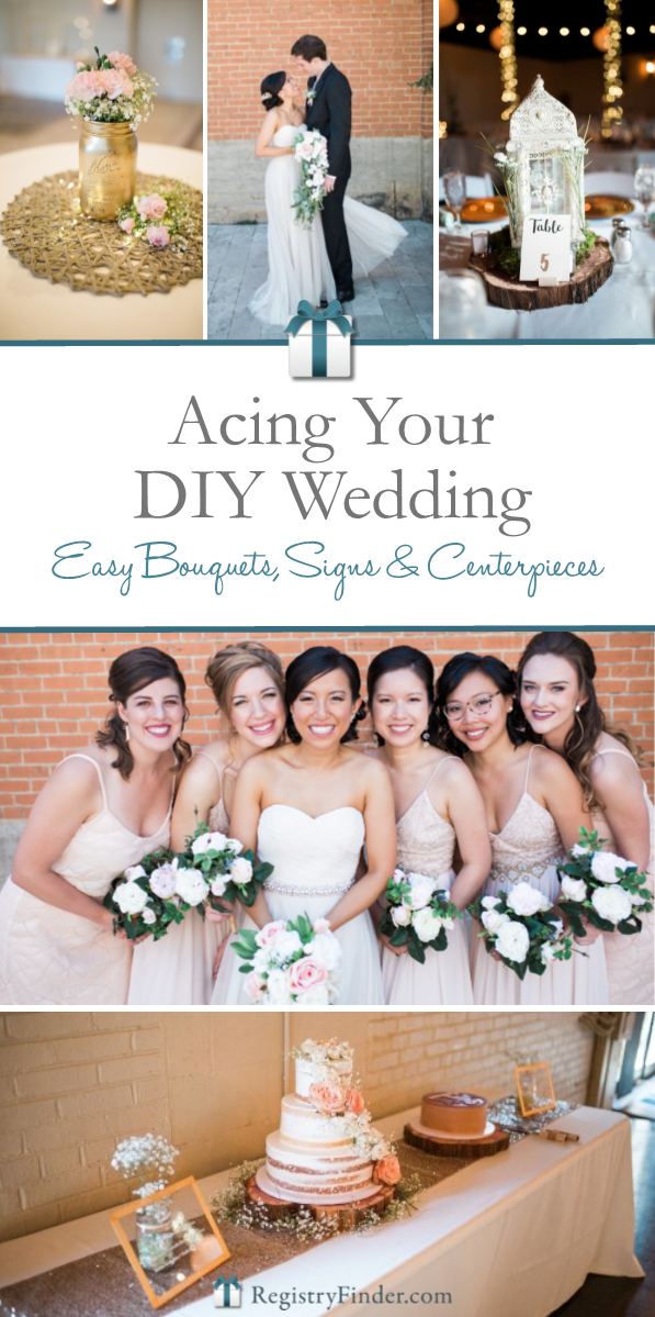 Acing Your DIY Wedding | RegistryFinder.com