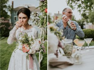 Signature Cocktail Inspiration | His and Her Wedding Cocktails