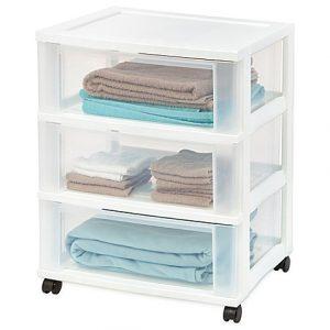 15 Dorm Room Essentials l 3 Drawer Storage