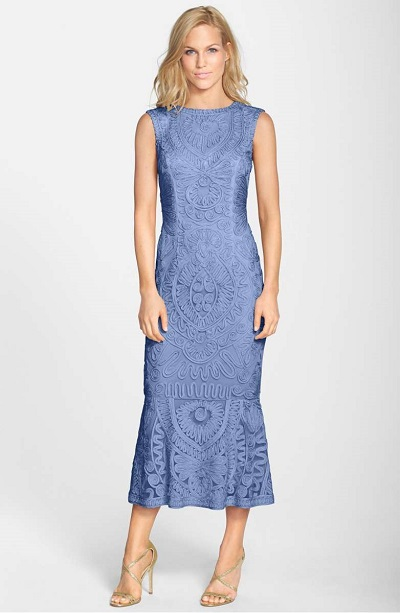 Soutache Mesh Dress JS COLLECTIONS Nordstrom