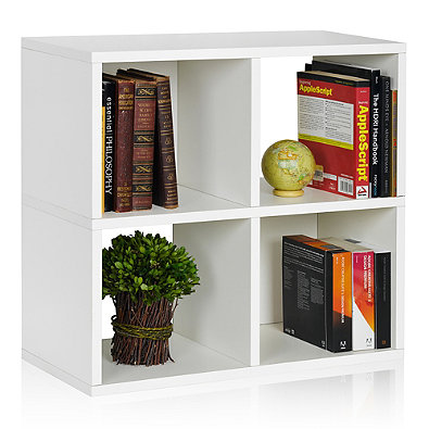 15 Dorm Room Essentials l 4 Cubby Bookcase