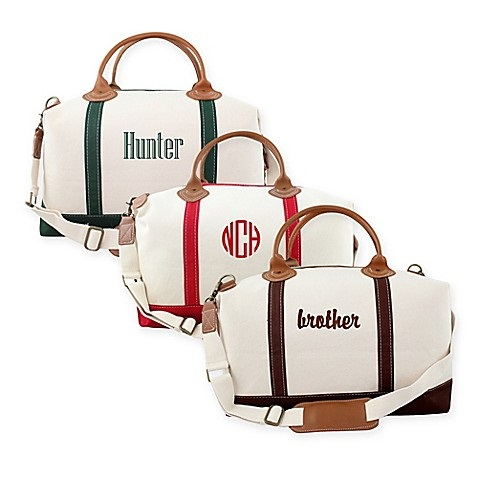 College Dorm Room Essentials | Personalized Weekender Duffel Bag