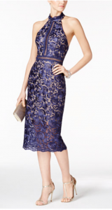 Elegant Guest of Wedding Dresses | XSCAPE Lace Sheath Dress