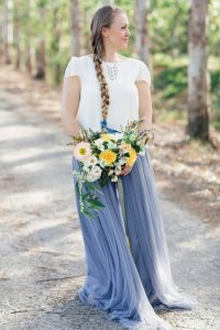 Trendy Bridal Bouquet   Bridal Bouquets with Branches