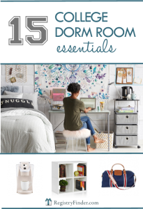 College Dorm Room Essentials | RegistryFinder.com