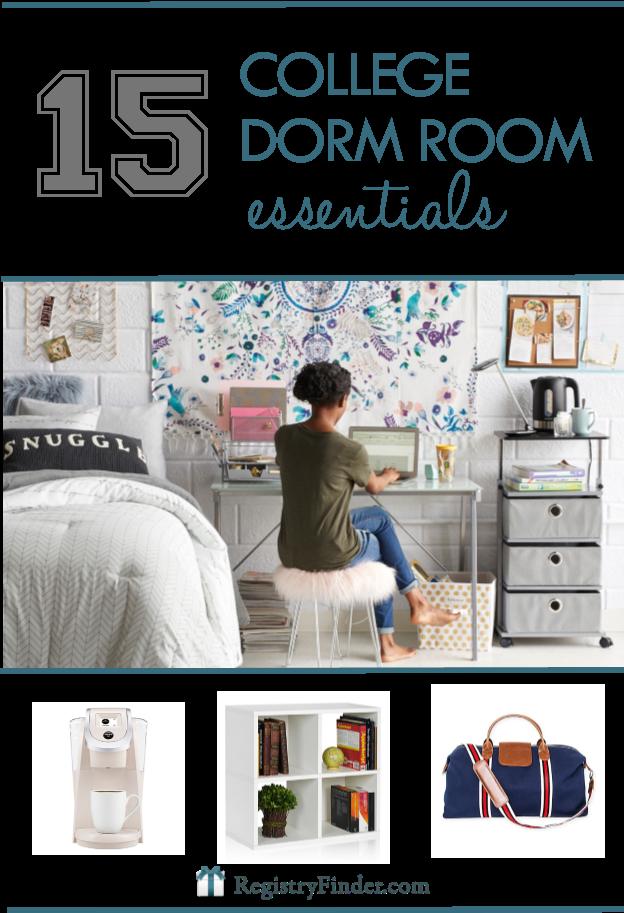 College Dorm Room Essentials | RegistryFinder.com