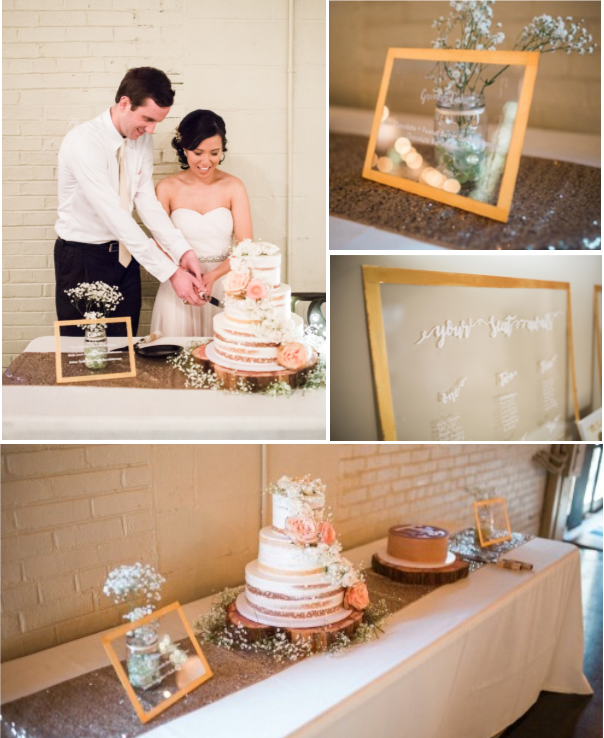 Acing Your DIY Wedding | Stunningly Simple Window-Pane DIY Seating Charts and Cake Signage