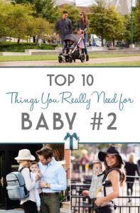 Top 10 Things You Really Need for Baby #2   RegistryFinder.com