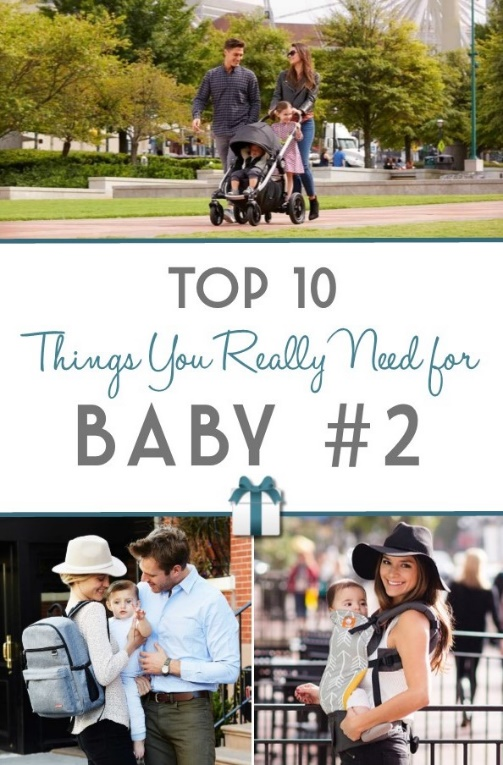 Top 10 Things You Really Need for Baby #2 | RegistryFinder.com
