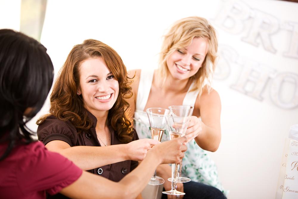 Group of friends gathered together for a bridal shower   RegistryFinder.com Ask Cheryl