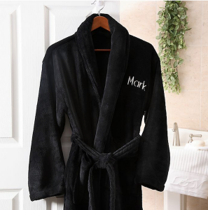 Personalized Gifts for Your Bridal Party   Fleece Robe