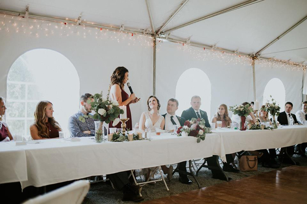 Maid of Honor Guide: give a well-planned, thoughtful speech | RegistryFinder.com