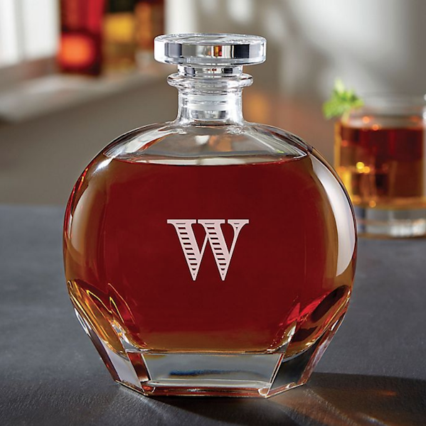 Personalized Gifts for Your Bridal Party | Whiskey Decanter