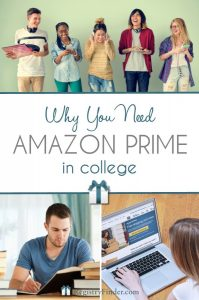 Why You Need Amazon Prime in College