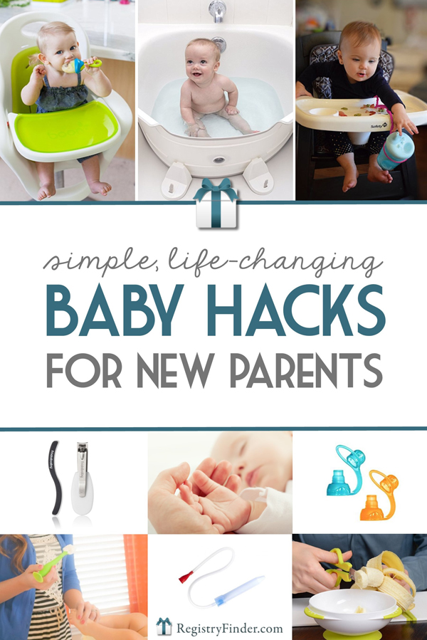 12 Baby Hacks for New Parents | RegistryFinder.com