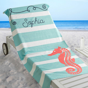 Personalized Bridesmaid Gift: Beach Towel