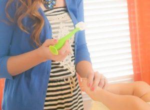 Parent Like a Pro- Baby Hacks | Use a Brush to Apply Diaper Rash Cream