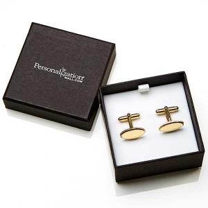 Personalized Groomsmen Gift: Engraved Cufflinks