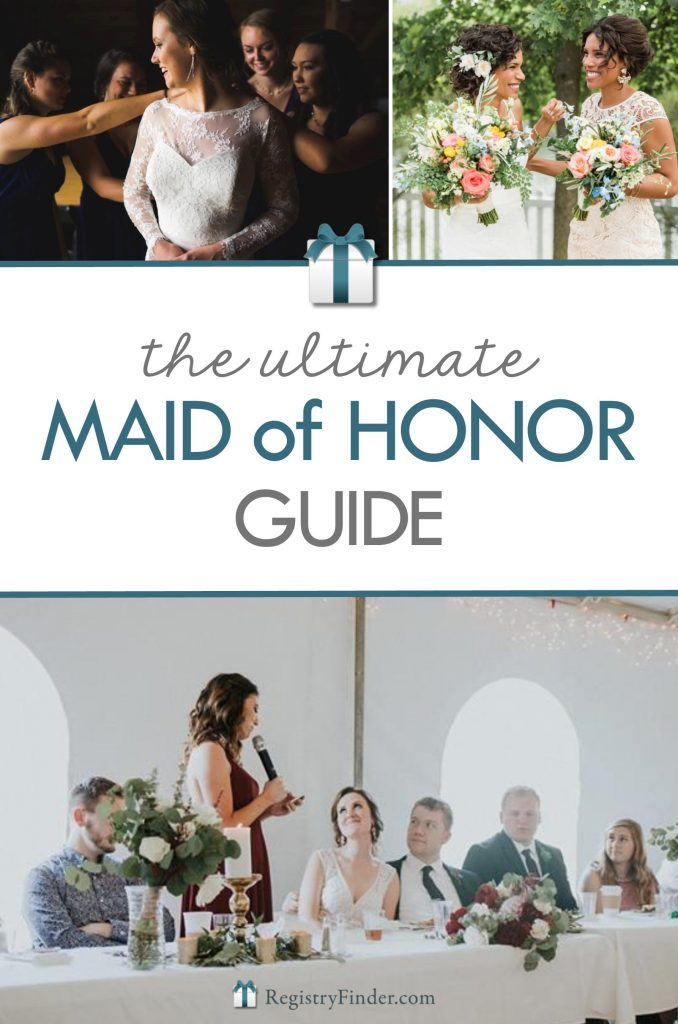 The Ultimate Maid of Honor Guide From RegistryFinder.com
