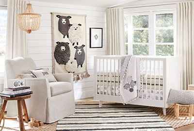 Pottery Barn Nursery | Neutral Nursery | Baby Style